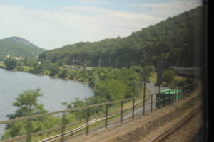 Bahnfahrt Dresden Prag